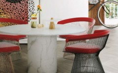 Fill your Dining Area with Colors Red Chair Inspiration (2) red chair Fill your Dining Area with Colors: Red Chair Inspiration Fill your Dining Area with Colors Red Chair Inspiration 7 240x150