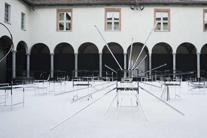 50 Unusual Metal Chairs by Oki Sato