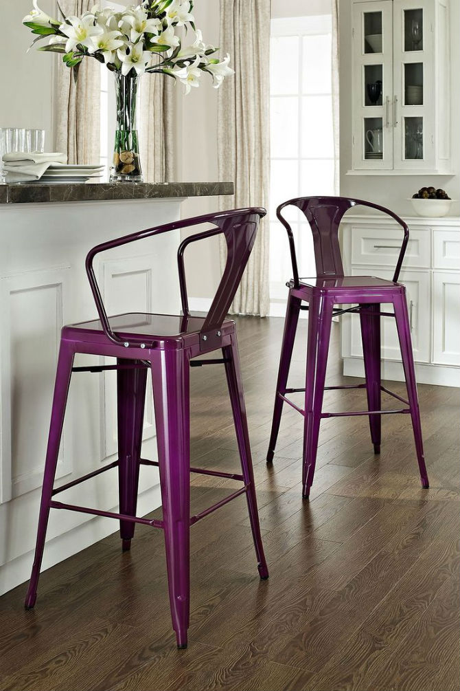 Interior Design Tips Where to place Metal Chairs