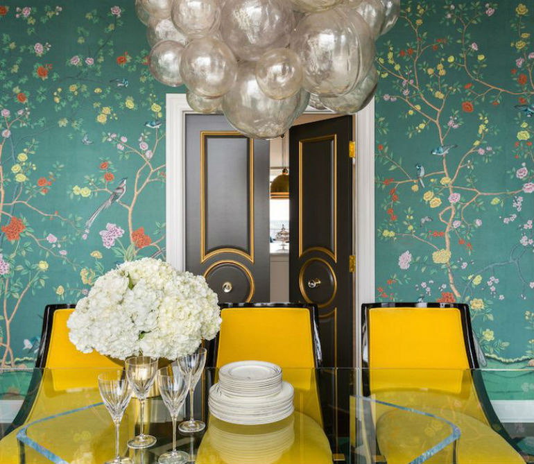 How To Decorate Dramatic Dining Rooms With Smart Dining Chairs (2)