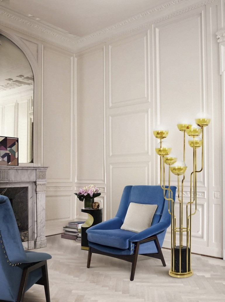 Blue Chairs: Modern and Comfortable Design For Every Room blue chairs Blue Chairs: Modern and Comfortable Design For Every Room 105 Must Have Modern Chairs You Will Covet This Spring 062