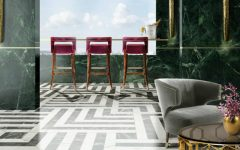 bar stools 7 Stunning Bar Stools From Top Hospitality Interiors brabbu hotel 9 1 240x150