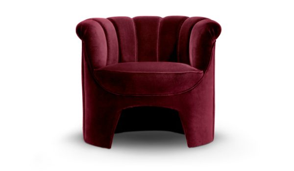 bedroom chairs 7 Superb Bedroom Chairs For A Stylish Retreat hera armchair 1 HR 2 600x350