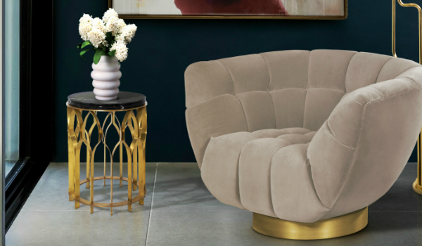 "living room chairs Why We Love Pantone's Color ""Hazelnut"" For Living Room Chairs brabbu ambience press 70 HR 600x350"