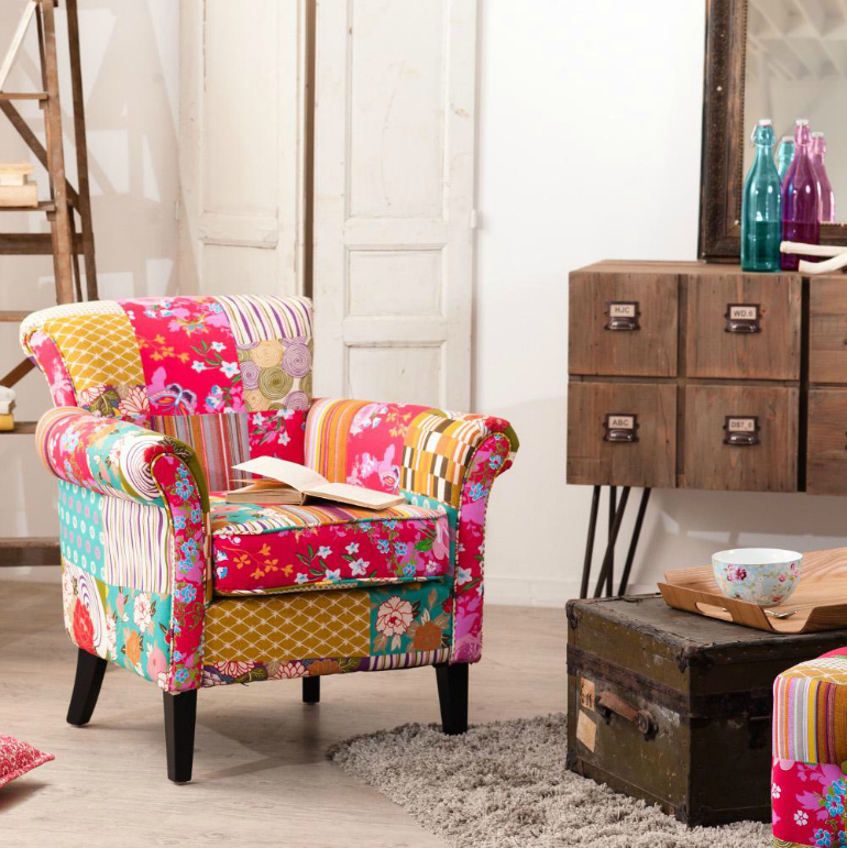 Colourful Modern Chairs: Summer Living Room Furniture Trends 2017