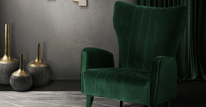 6 Green Accent Chairs for your Cozy Bedroom