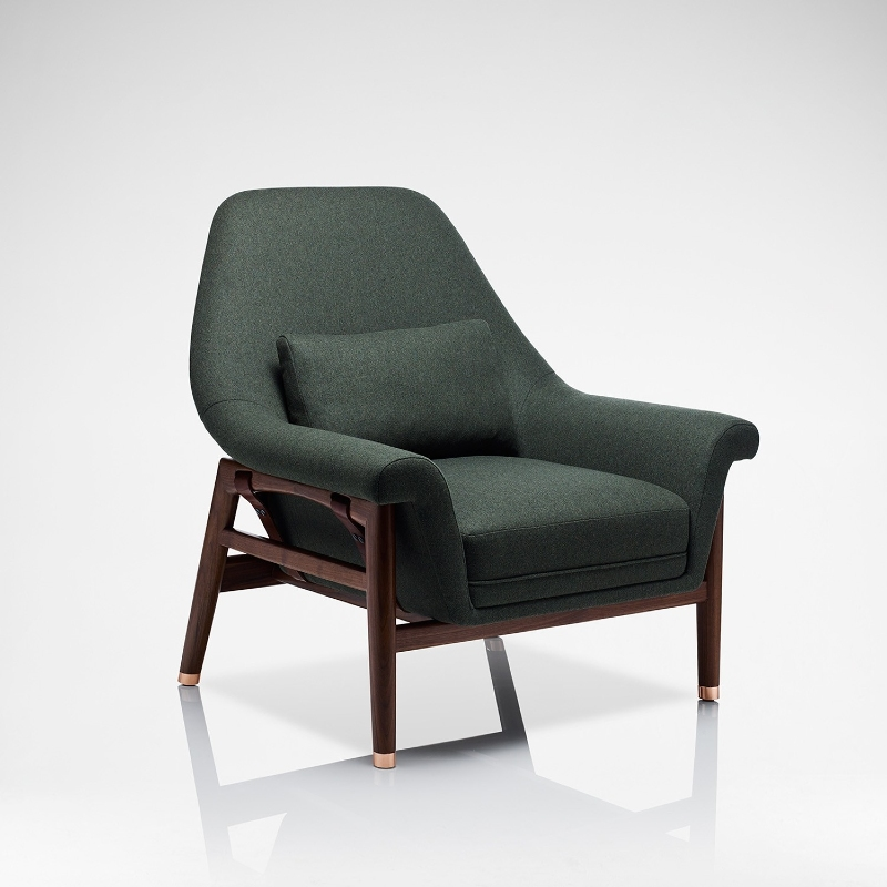 linley Linley: Armchairs with Detail and Creativity Linley Modern Chairs with Detail and Creativity 8