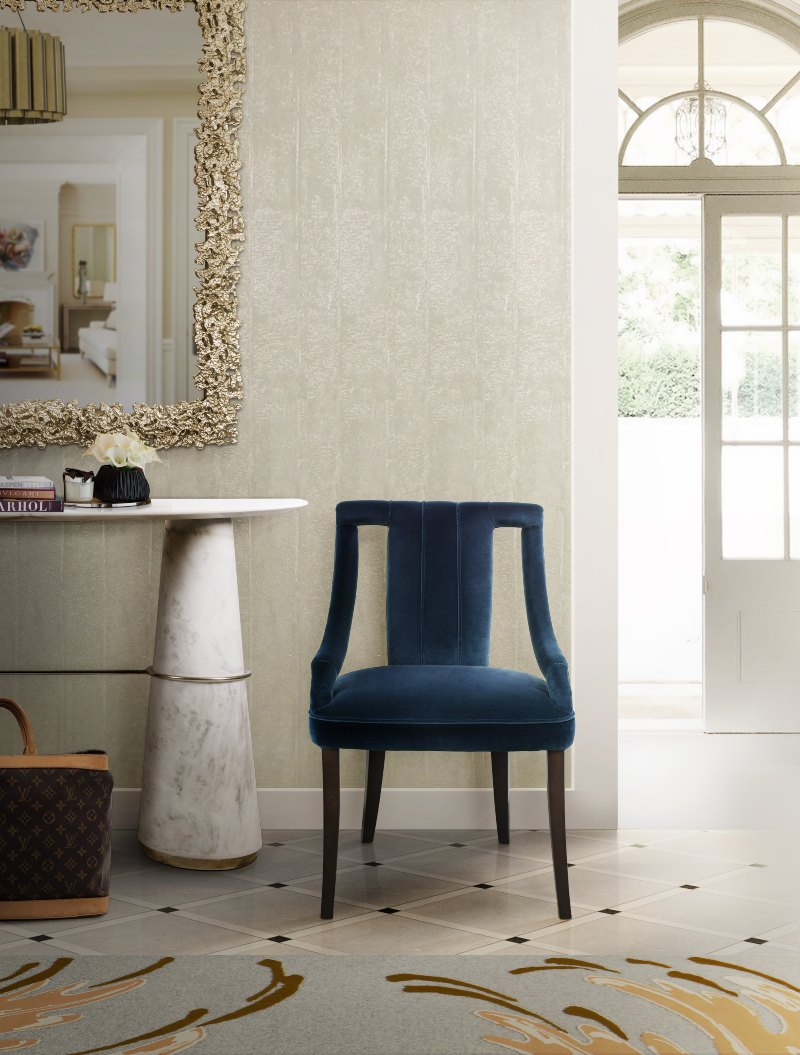 Room by Room Entryway and Hallway Modern Chairs Ideas