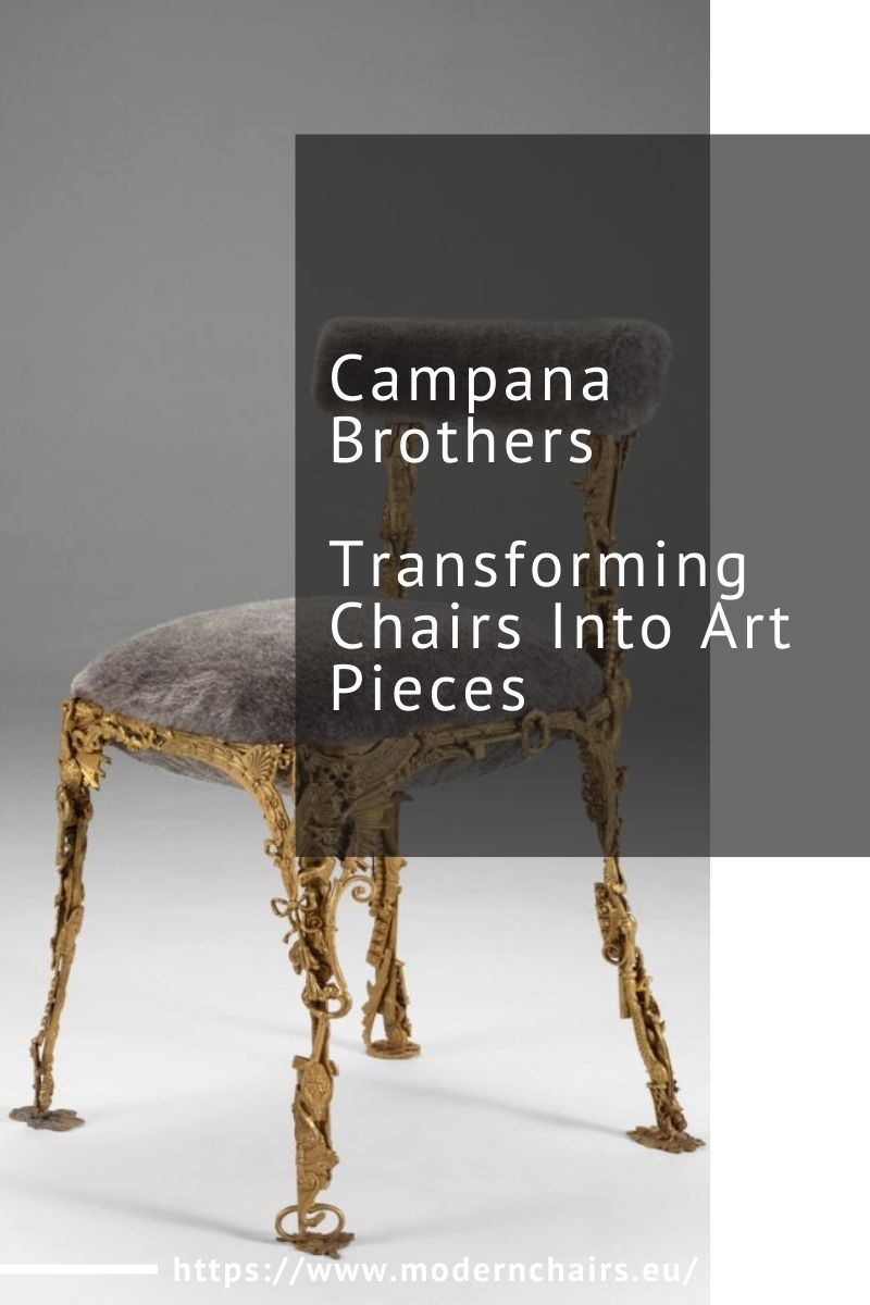 Campana Brothers, Transforming Chairs Into Art Pieces campana brothers Campana Brothers, Transforming Chairs Into Art Pieces Campana Brothers Transforming Chairs Into Art Pieces 1 1