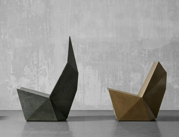 Concrete Chairs, The Sculptural and Unusual Trend concrete chairs Concrete Chairs, The Sculptural and Unusual Trend Concrete Chairs The Sculptural and Unusual Trend 600x460