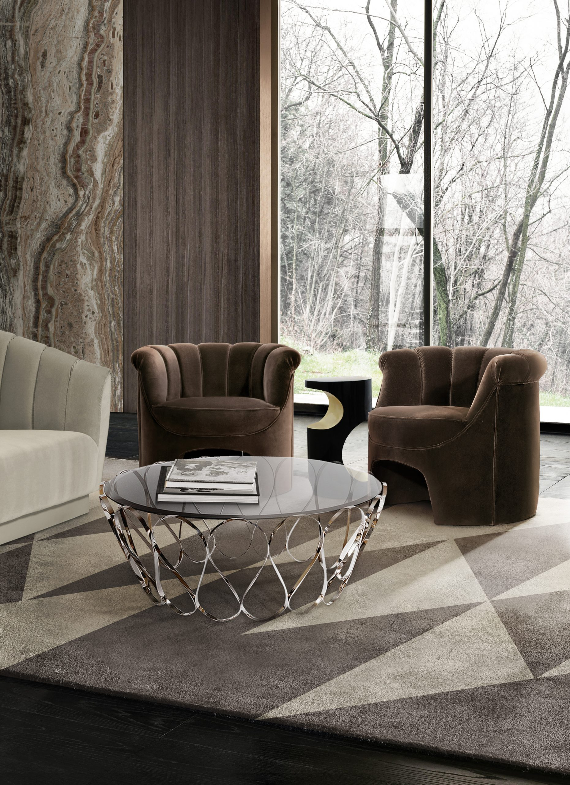 Accent Chairs: Tips On How To Choose A Chair To Make a Statement accent chairs Accent Chairs: Tips On How To Choose A Chair To Make a Statement 1 hera armchair aquarius origami rug scaled