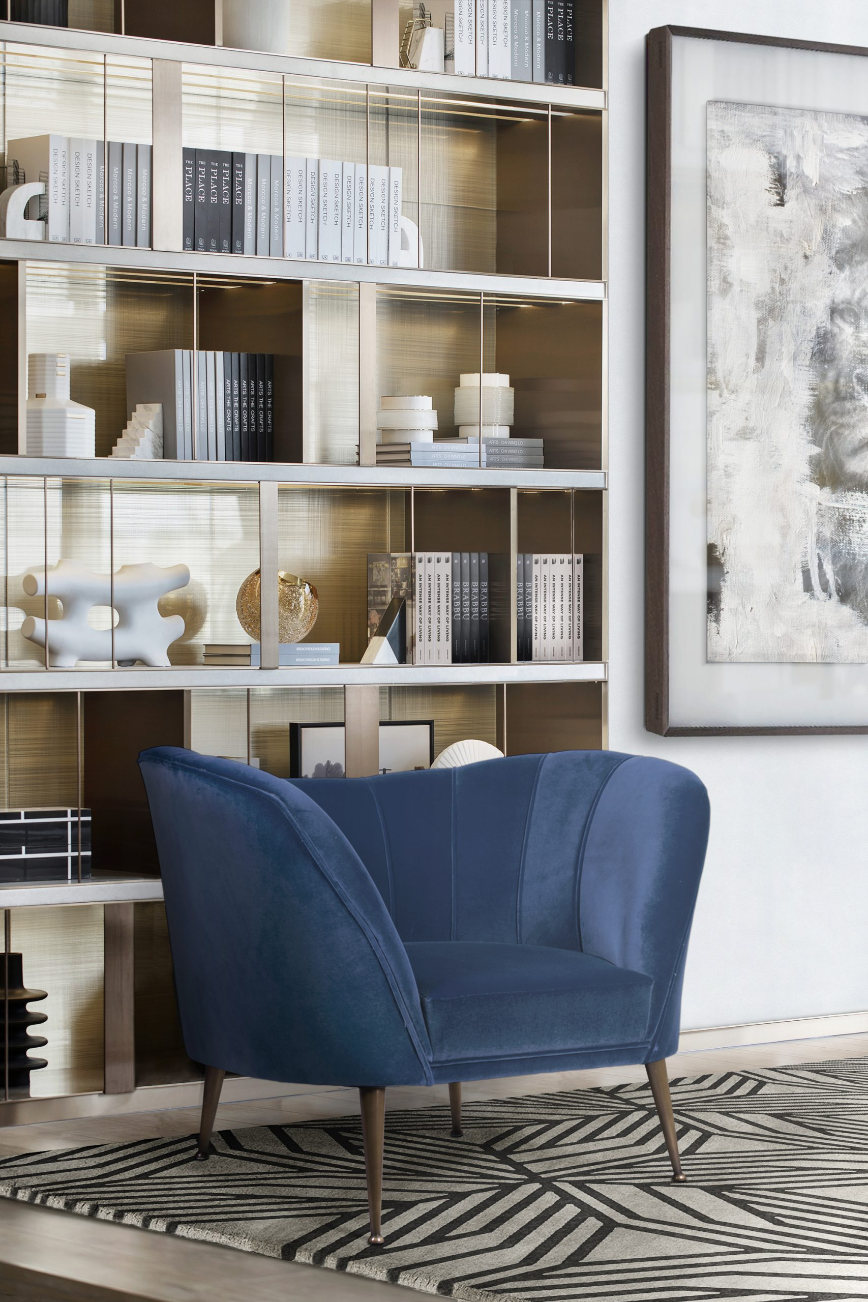 The Best Chairs For Your Reading Corner reading corner The Best Chairs For Your Reading Corner Andes Armchair cauca Rug scaled