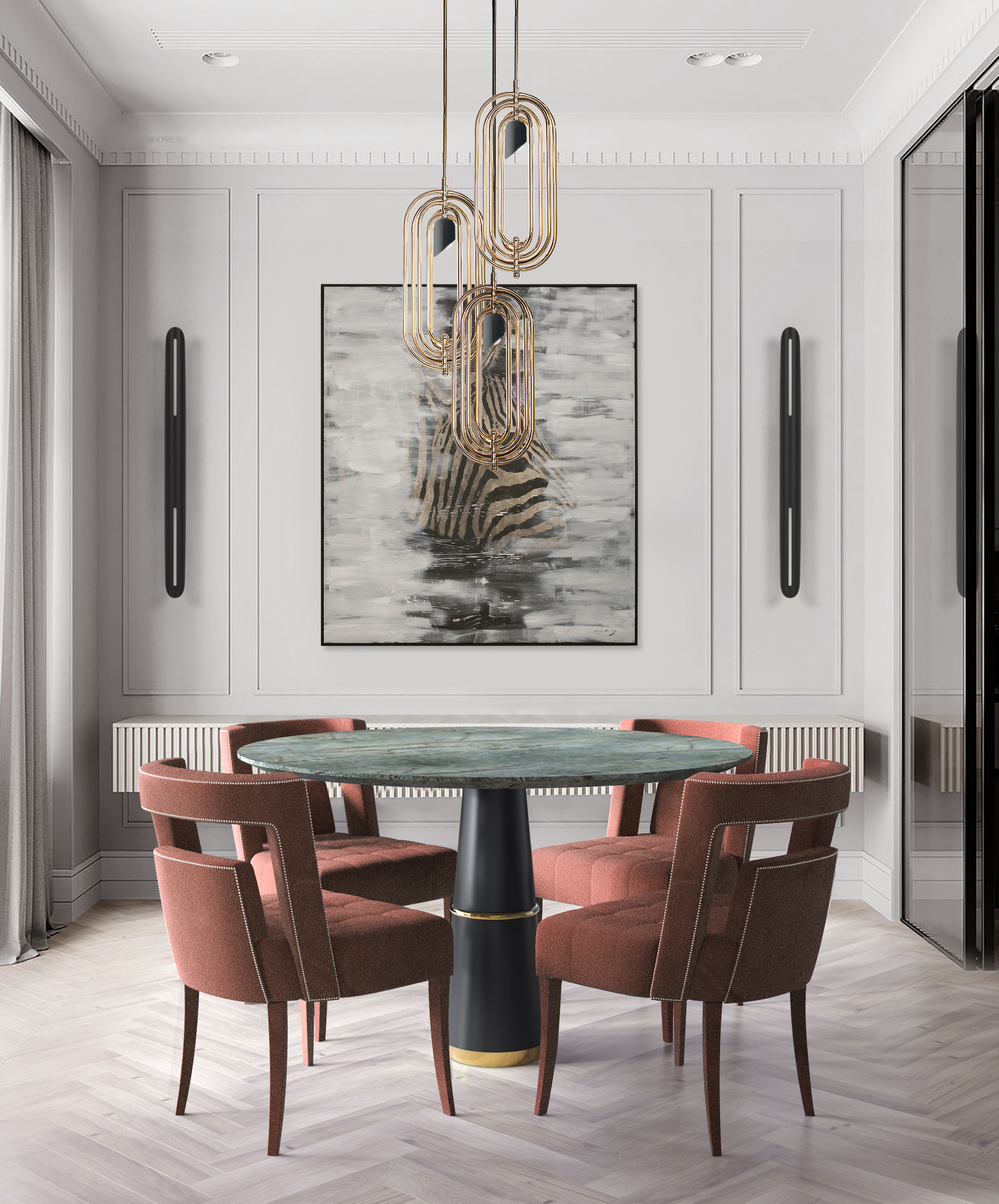 Dining chairs: The Best Upholstered Chairs For Your Dining Room dining chairs Dining chairs: The Best Upholstered Chairs For Your Dining Room BB agra round naj dining