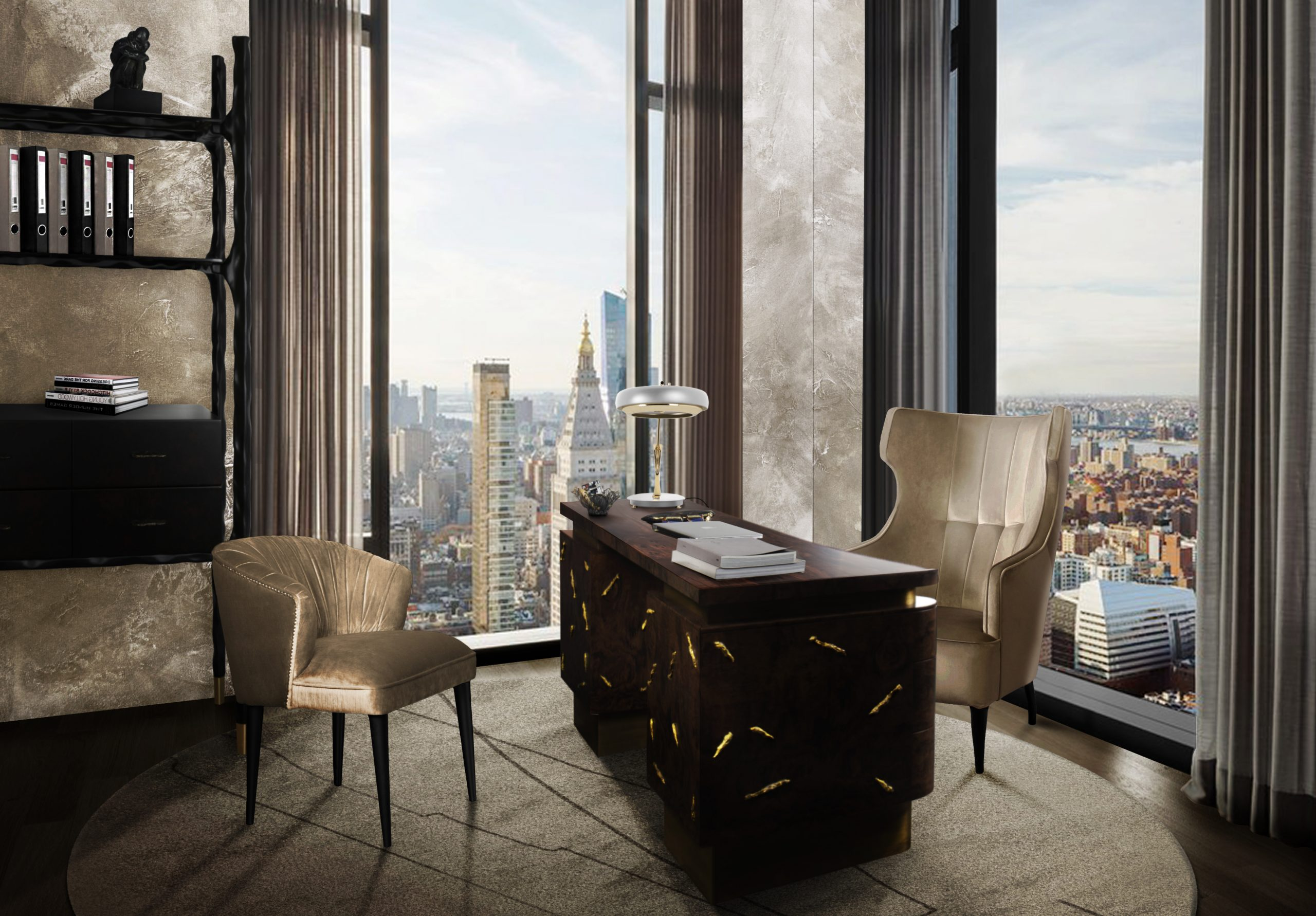2021 Interior Design Trends  2021 interior design trends 2021 Interior Design Trends BB baraka desk ibis armchair scaled