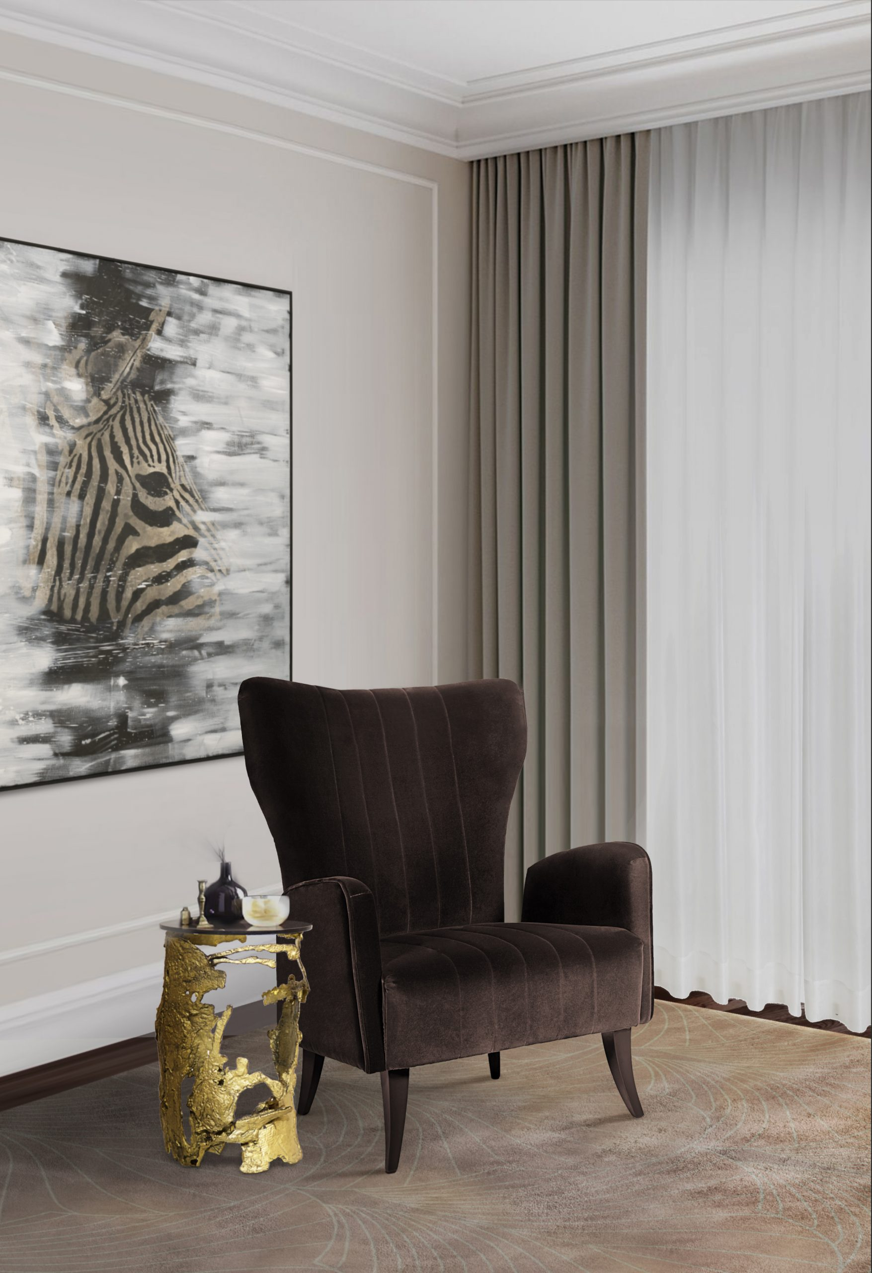 Accent Chairs: Tips On How To Choose A Chair To Make a Statement accent chairs Accent Chairs: Tips On How To Choose A Chair To Make a Statement BB cay side table davis armchair scaled