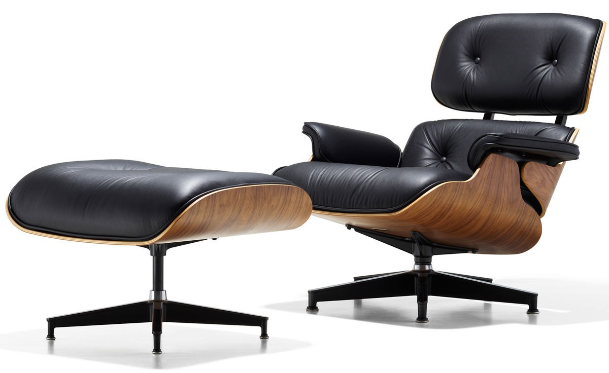 Iconic Chairs: The Top 10 Chairs Designed By Architects iconic chairs Iconic Chairs: The Top 10 Chairs Designed By Architects Eames Lounge Chair Charles Ray Eames
