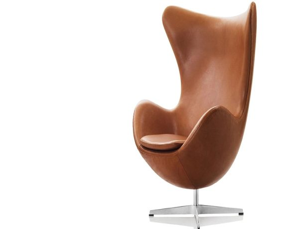 iconic chairs Iconic Chairs: The Top 10 Chairs Designed By Architects Egg Chair Jacobsen 600x460
