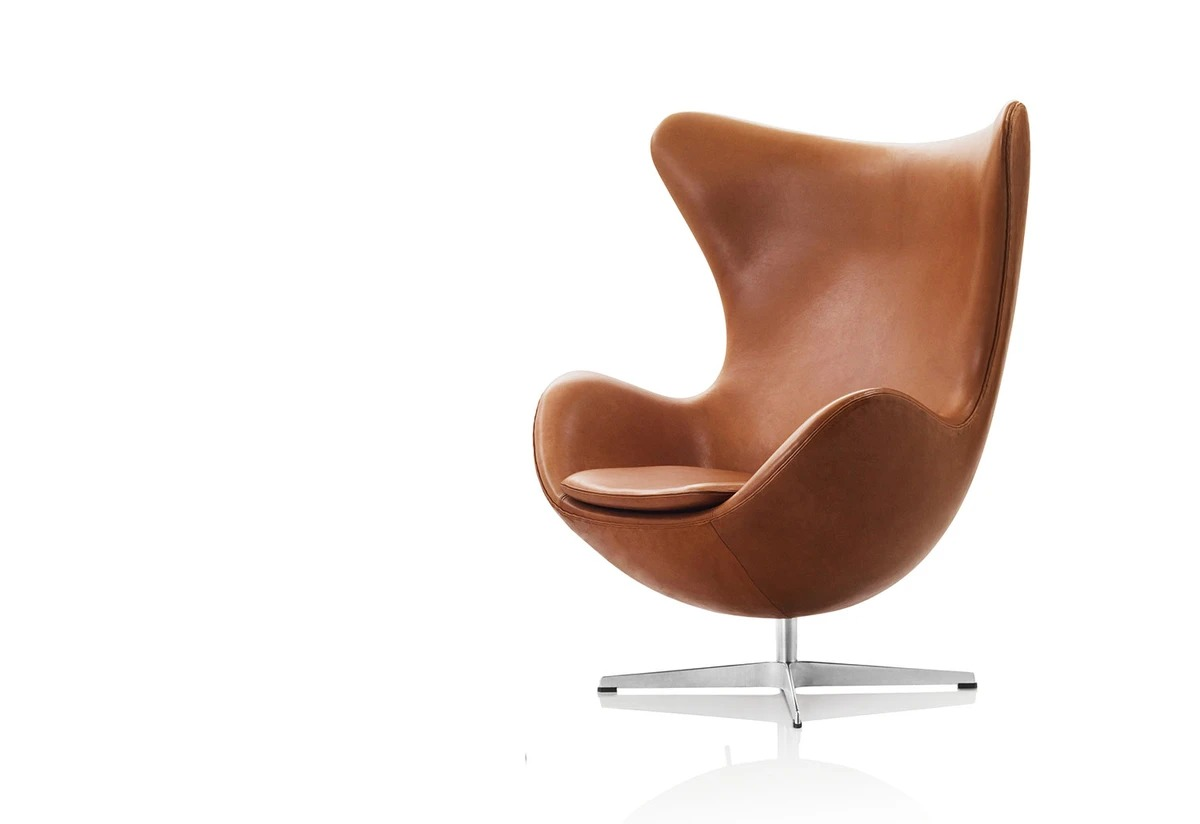 Iconic Chairs: The Top 10 Chairs Designed By Architects iconic chairs Iconic Chairs: The Top 10 Chairs Designed By Architects Egg Chair Jacobsen