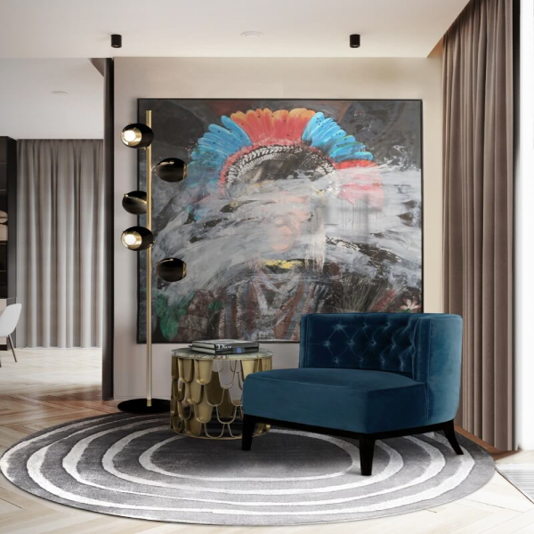 blue chairs Blue Chairs: Modern and Comfortable Design For Every Room Modern Contemporary Chair Design The Fresh of the Moment Flair 5