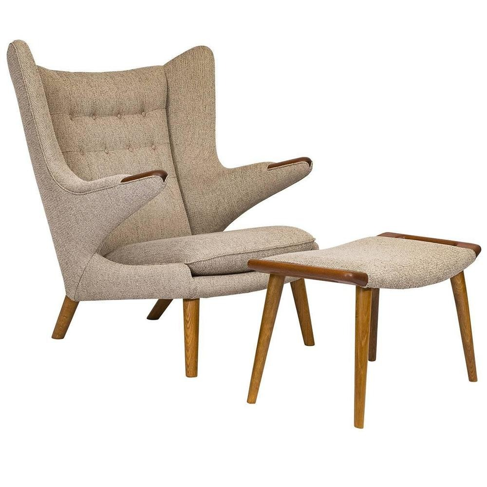 Iconic Chairs: The Top 10 Chairs Designed By Architects iconic chairs Iconic Chairs: The Top 10 Chairs Designed By Architects Papa Bear Chair Hans Wegner