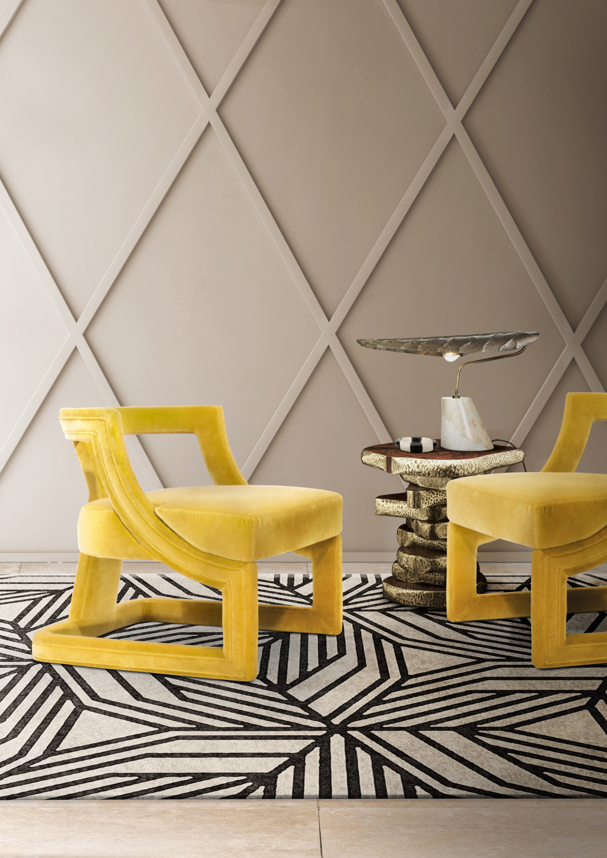 Yellow Chairs: Modern Design That Will Light Up Your House  yellow chairs Yellow Chairs: Modern Design That Will Light Up Your House batak armchairless 1