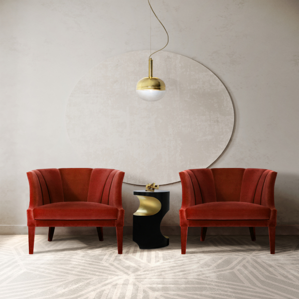 red chairs Red Chairs That Fit Every Modern Division begonia niku bryce modern chairs Modern Chairs begonia niku bryce