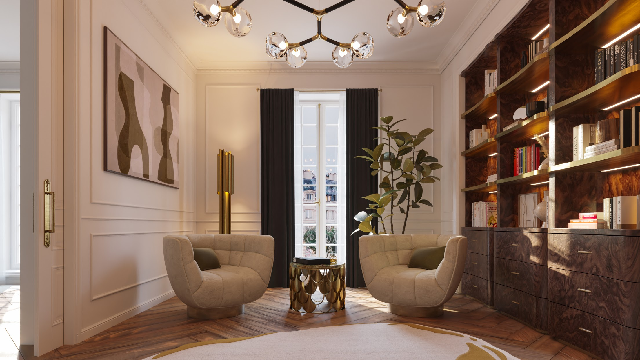 """The Wonder Of The Parisian """"Éternel"""": Reading Chairs For a Cosy Nook"""