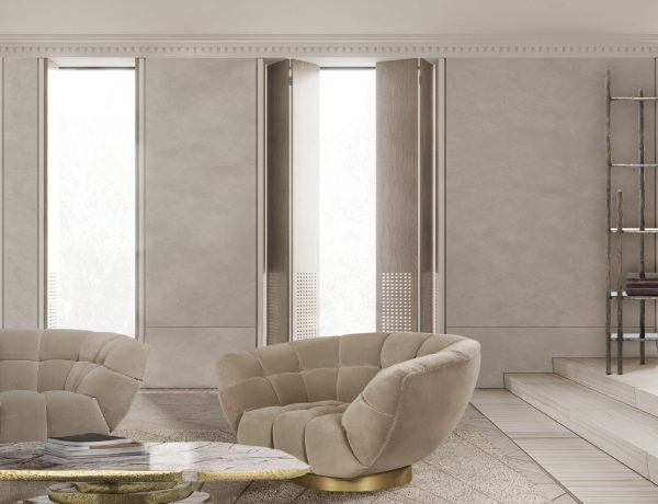 monochromatic look Monochromatic Look: How To Create Modern Rooms With One Colour essex armchair latza center marble 600x460