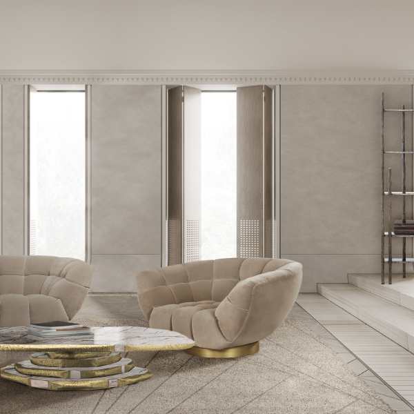 monochromatic look Monochromatic Look: How To Create Modern Rooms With One Colour essex armchair latza center marble modern chairs Modern Chairs essex armchair latza center marble