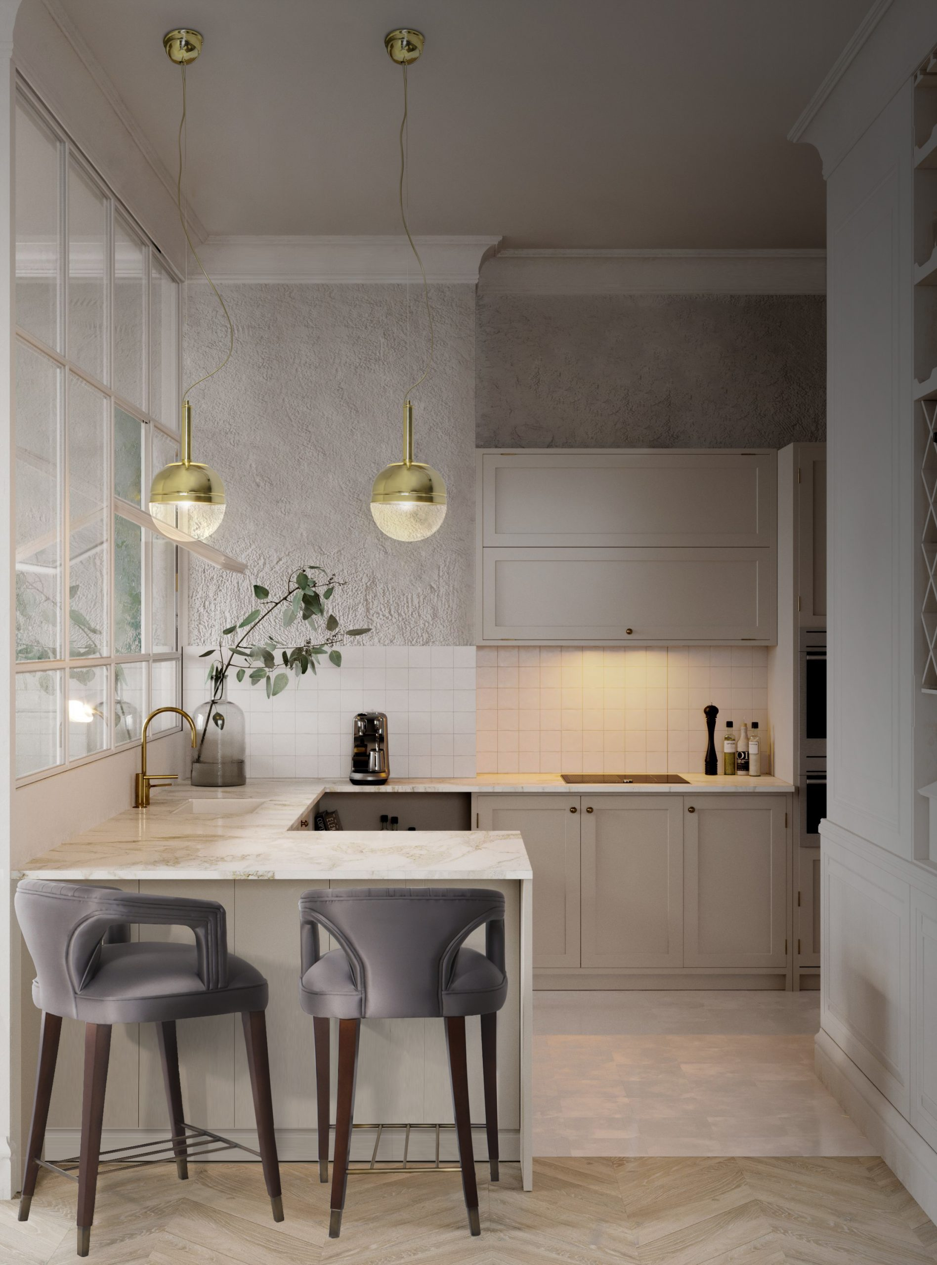 20 Counter Stools To Help You Create Your Dream Kitchen counter stools 20 Counter Stools To Help You Create Your Dream Kitchen karoo ba chair niku pendant scaled