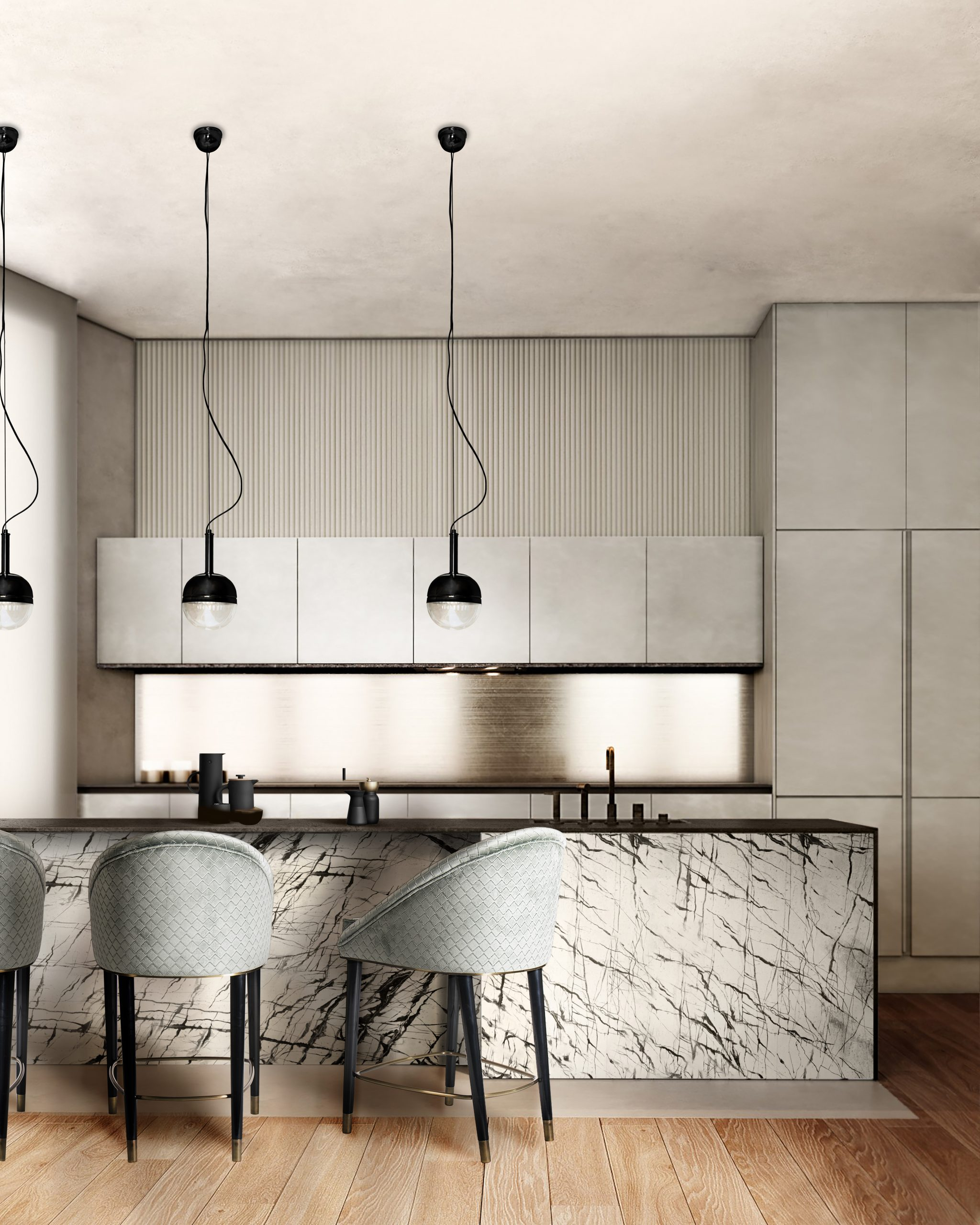 20 Counter Stools To Help You Create Your Dream Kitchen counter stools 20 Counter Stools To Help You Create Your Dream Kitchen kitchen malay counter niku pendant scaled