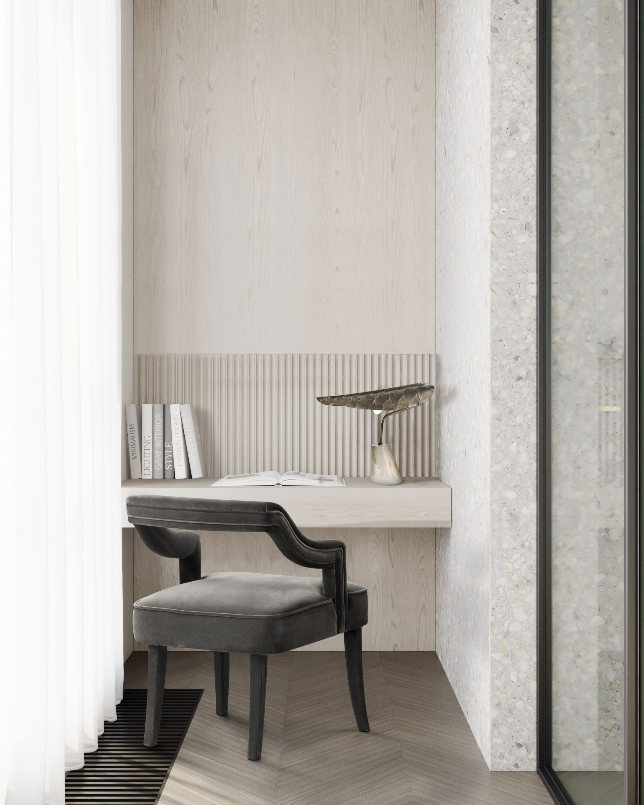 Monochromatic Look: How To Create Modern Rooms With One Colour monochromatic look Monochromatic Look: How To Create Modern Rooms With One Colour oka dining modern scaled