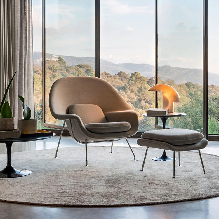 20 Modern Armchairs For A Bold And Timeless Design modern armchairs 20 Modern Armchairs For A Bold And Timeless Design womb chair knoll 2