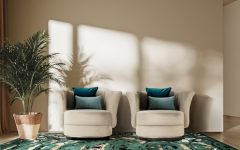 Modern Chairs Inspiration: A Variety of Textures, Colours, Shapes
