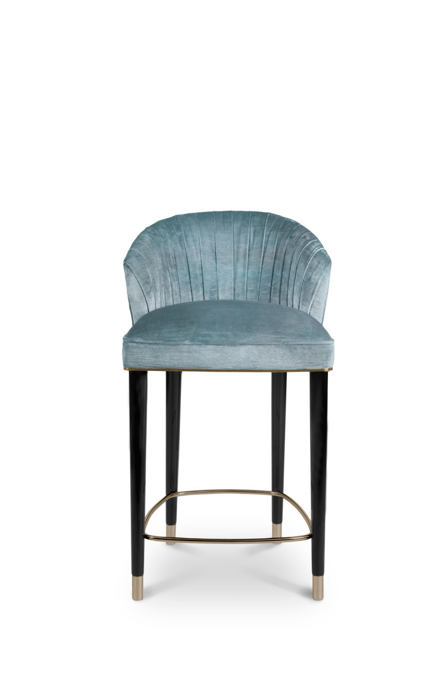 Best Sellers: 10 Counter Stools that Will Turn Your Kitchen Fabulous blue velvet counter stool