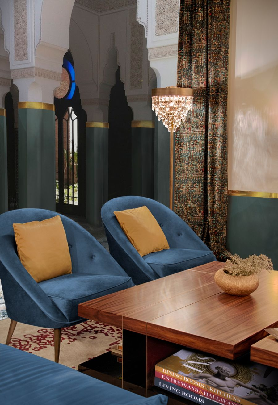Modern Blue Chairs: Comfortable, Sophisticated, Timeless and Fierce