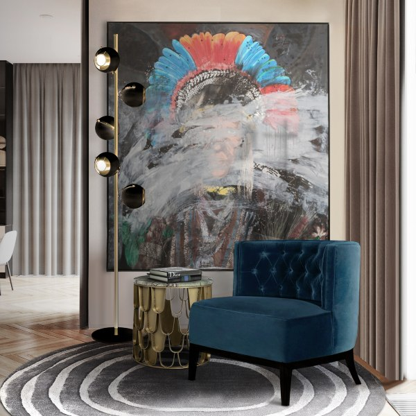 Modern Blue Chairs Comfortable, Sophisticated, Timeless and Fierce