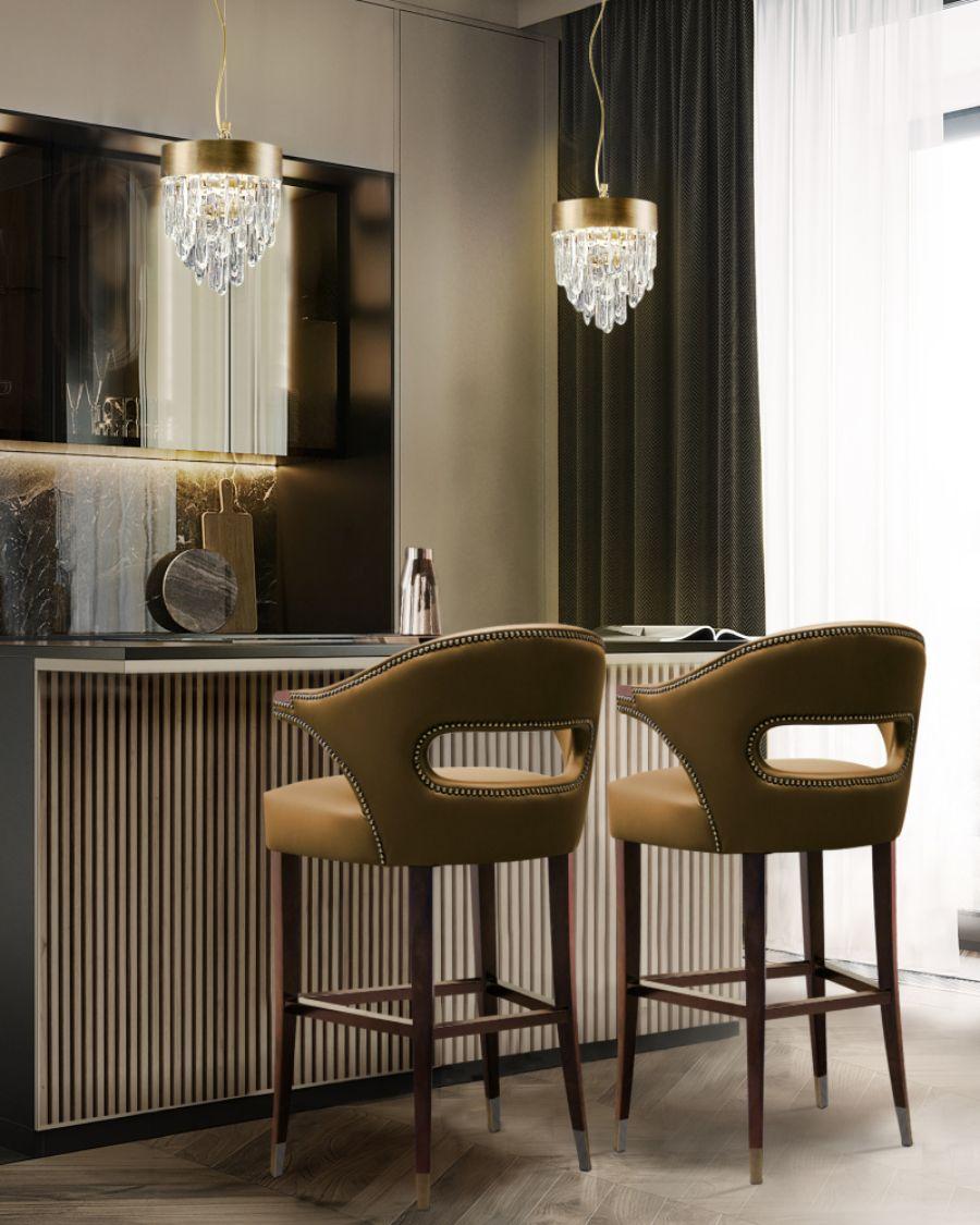 Modern Kitchen Chairs: 10 Unique Designs That Bring Comfort & Elegance
